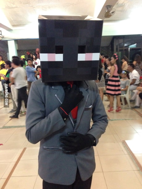 Classy Enderman Costume What Do You Guys Think 9gag