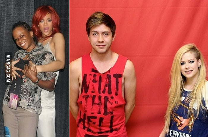 Meet and greet with rihanna x avril lavigne 9gag meet and greet with rihanna x avril lavigne m4hsunfo