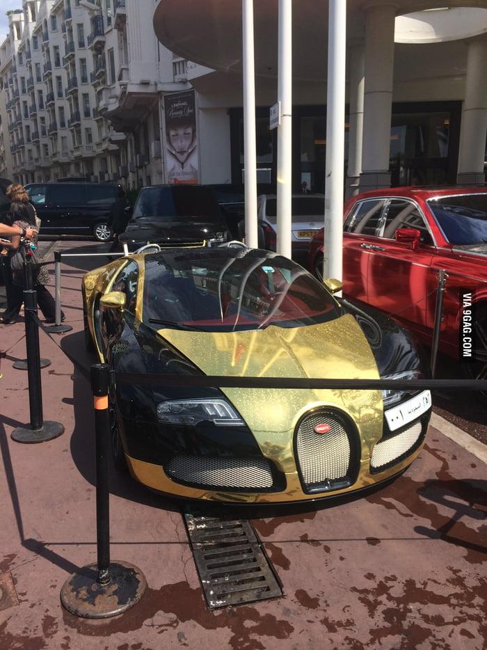 I Present The Golden Bugatti 9gag