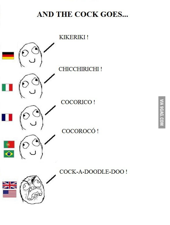 Cocks From Around The World