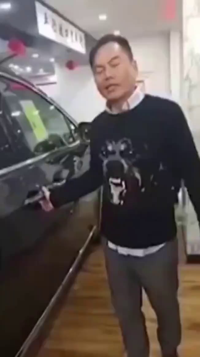 The car salesman of the year... wait for it