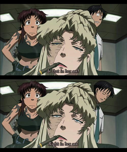 Not All Anime Are For Kids Black Lagoon Is The Kind Of Anime, You Have To Watch -8324