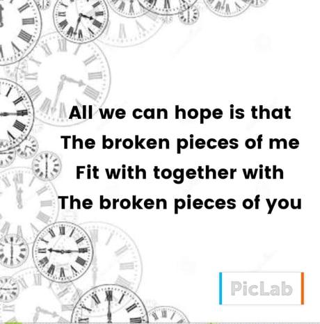 We are all a bit broken...