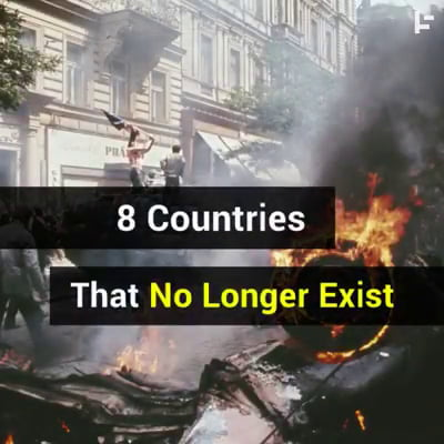 8 no longer exist countries
