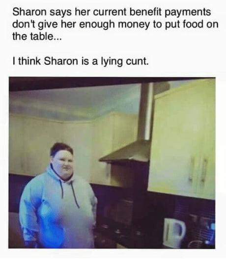 A lying c**t...