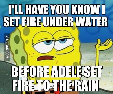 Hipster Spongebob
