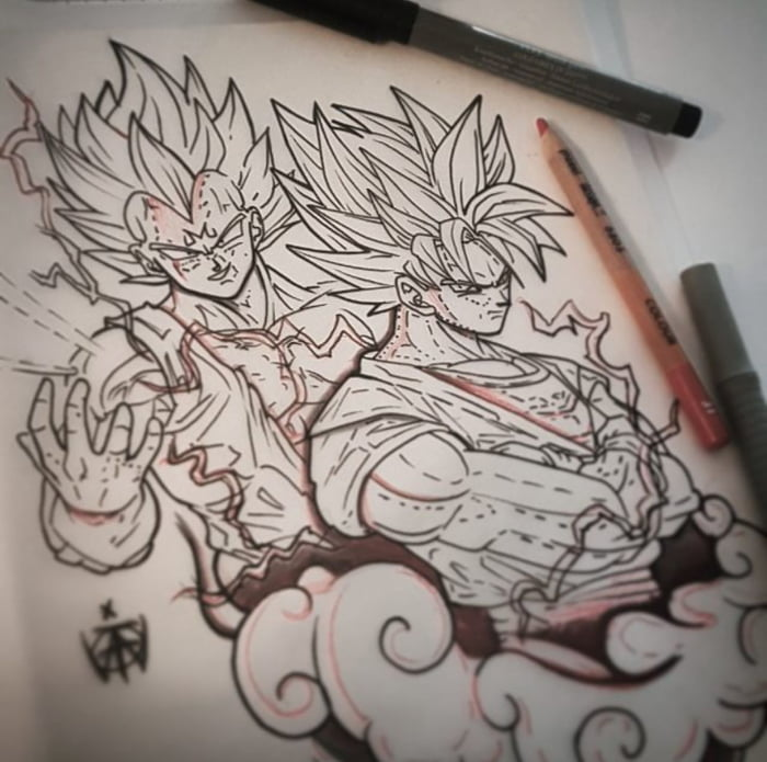 Dragonball Z Tattoo Design I Made Hope You Guys Like It 9gag