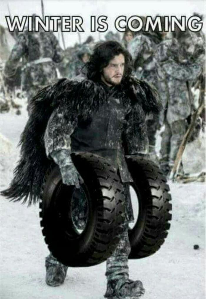 Can big ass tires Aha, too