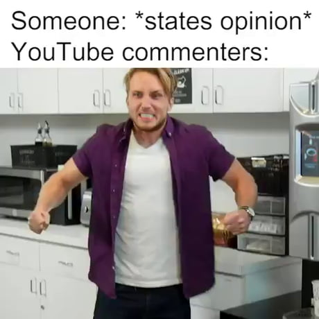 Why YouTube comments so salty?