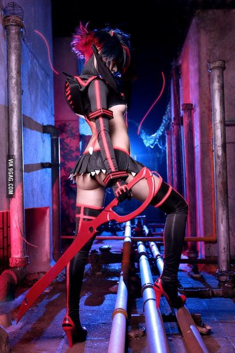 Ryuko Matoi Synchronized Kamui Senketsu Ver Cosplay 9gag
