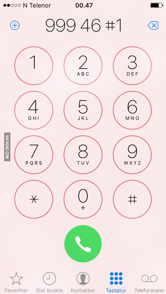 Type this number, and with right rhythm it will sound like