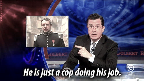 When people say Javert is annoying.