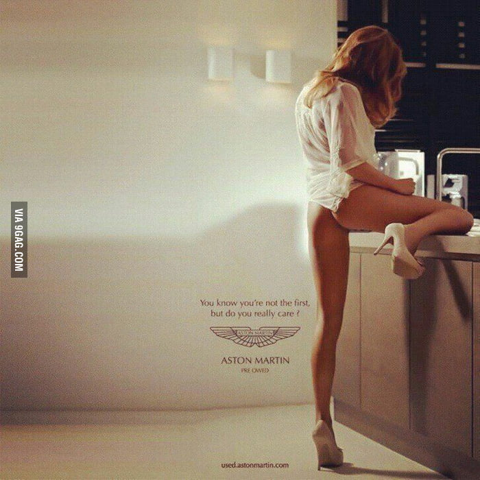 Aston Martin Ad For Pre Owned Cars 9gag