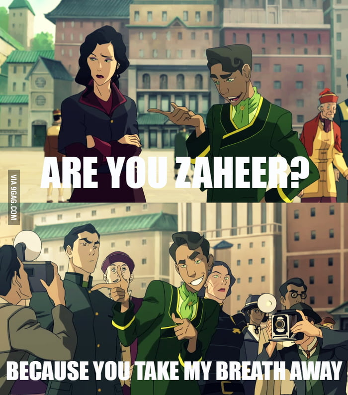 Worst Pick Up Lines Wu  Any Legend of Korra fans out there