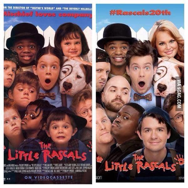 Little rascals all grown up!