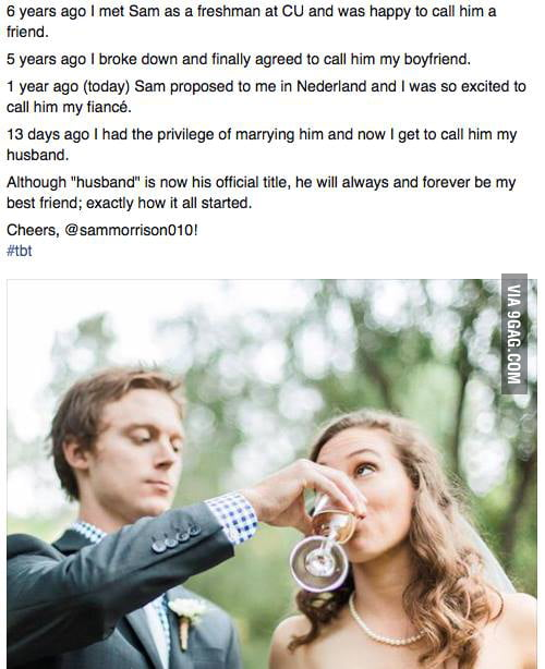Respect to this guy for getting out of the friendzone  - 9GAG
