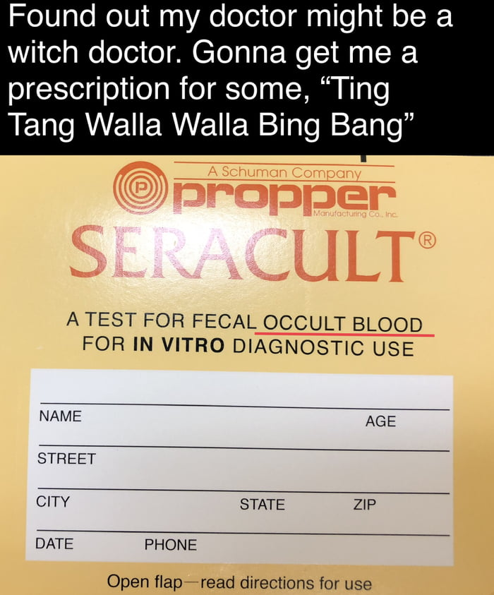 I told the Witch Doctor - 9GAG