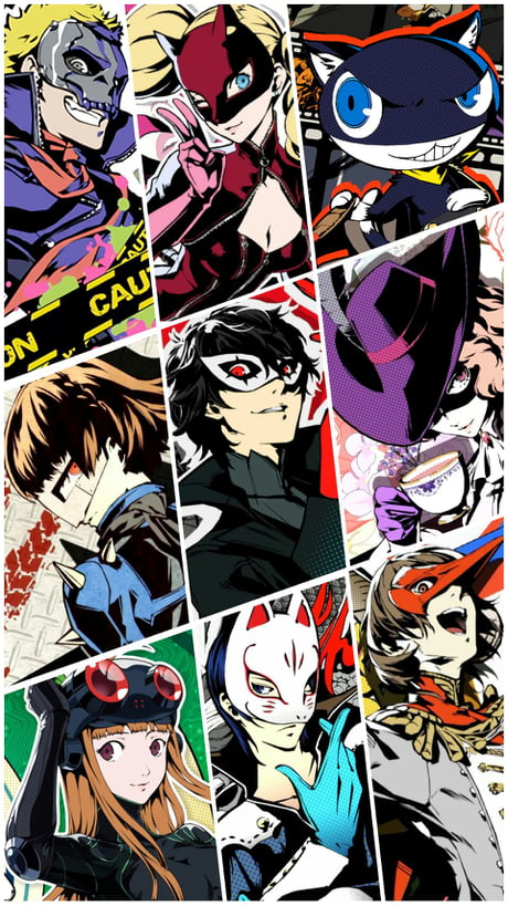 Found this cool Persona 5 wallpaper on Google.