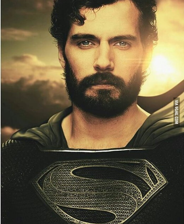Bearded Superman Superman in Justice Le...
