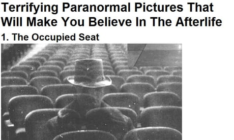 Terrifying Paranormal Pictures That Will Make You Believe In The Afterlife Part 3