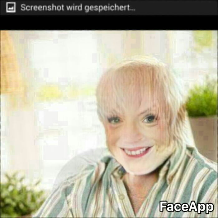 What have I done :/ #faceapp