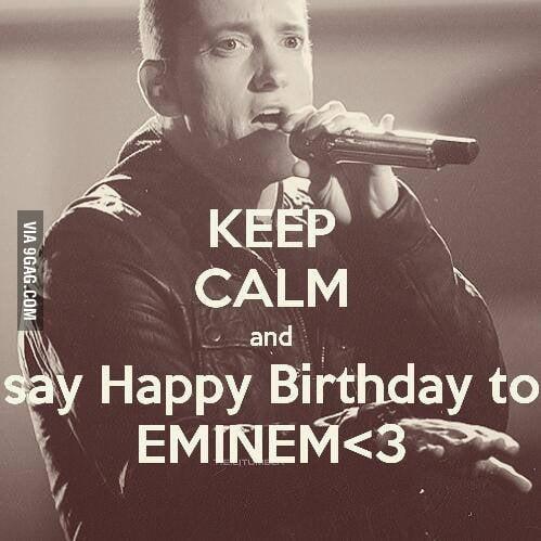 Happy Birthday Rap God 9gag