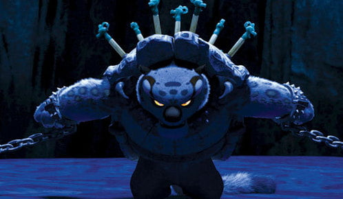 In Kung Fu Panda Yellow Is The Colour Of Heroism The Villain Tai Lung Has Golden Irises Making Him The Hero In His Own Eyes 9gag