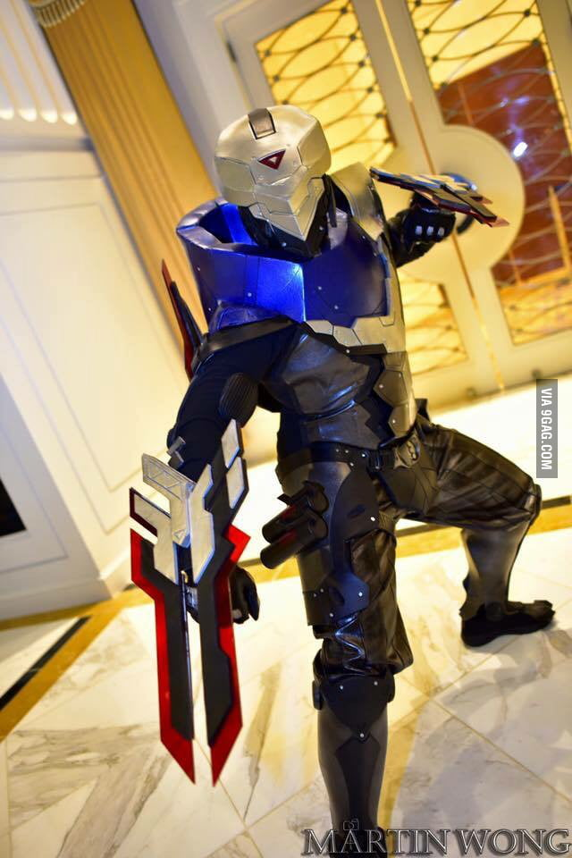 Project: ZED cosplay from League of Legends [Phamtaro Cosplay] - 9GAG
