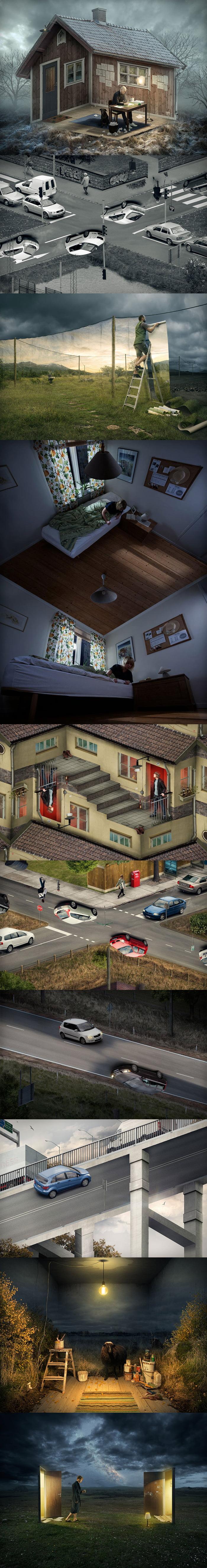 Mind-Bending Optical Illusions By Swedish Photoshop Master Erik Johansson