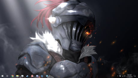 I made this wallpaper (It moves) for Goblin Slayer that includes the song in