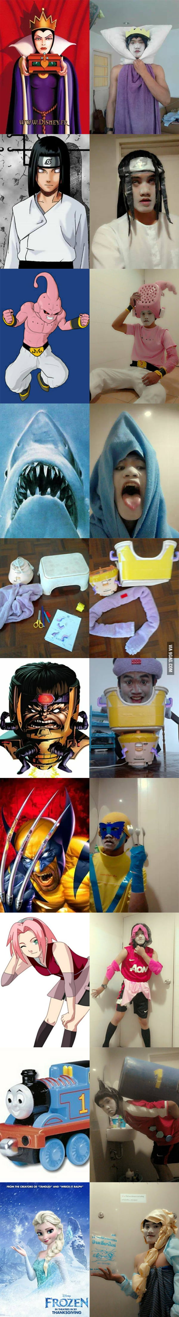 The Best Cosplayer Ever