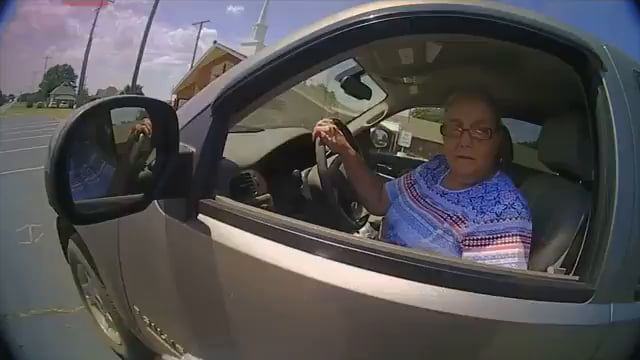 Lady refuses to sign ticket, runs from the police and then resists arrest. Shocked when she gets tazed.