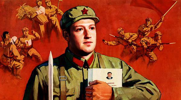 Resultado de imagem para Mark zuckerberg communist