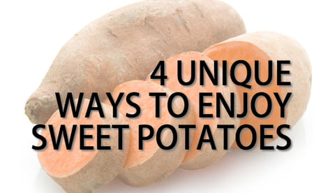 It's Cook A Sweet Potato Day! Try these interesting recipe ideas out!