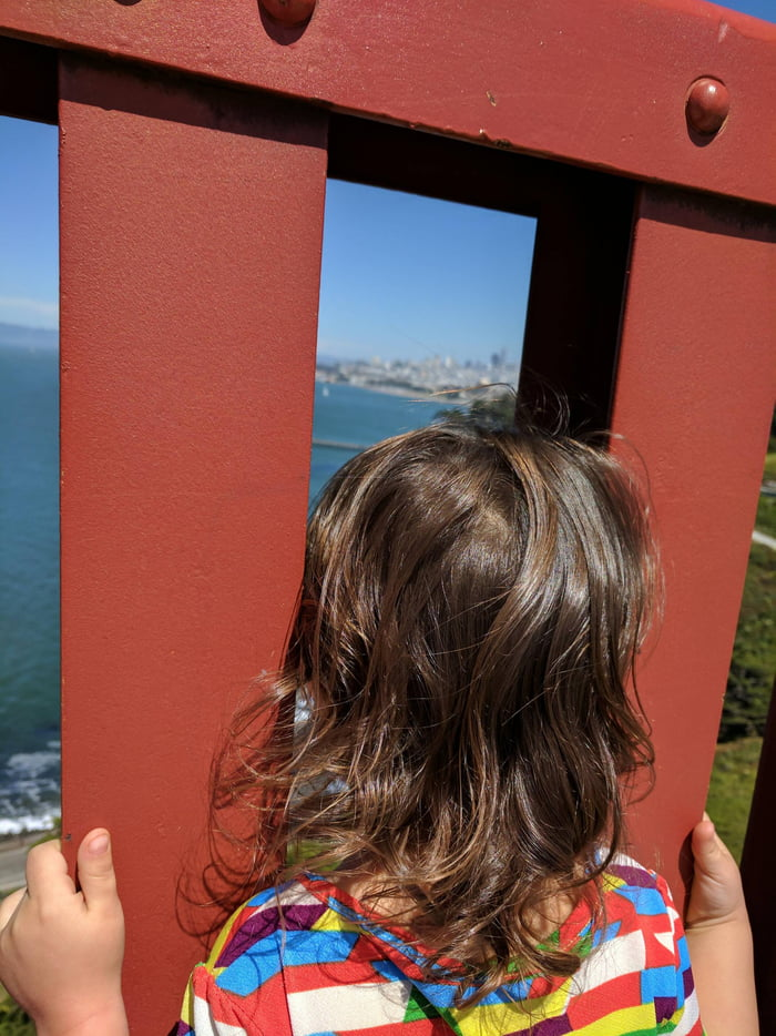 Looking off the Golden Gate