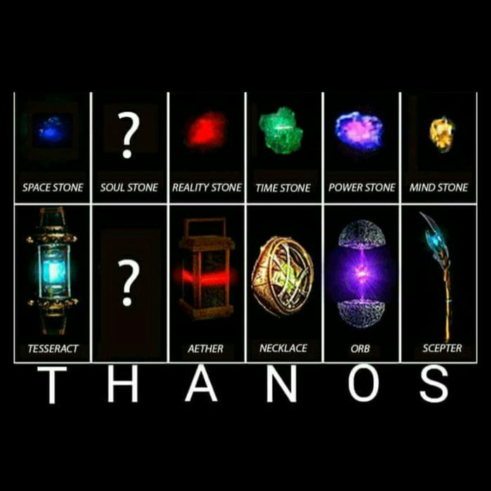 guys  what do you think about the 6th infinity stone  what could it be