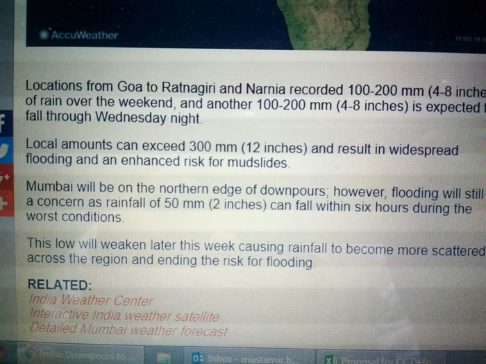 Narnia is in India  excerpt from AccuWeather - 9GAG