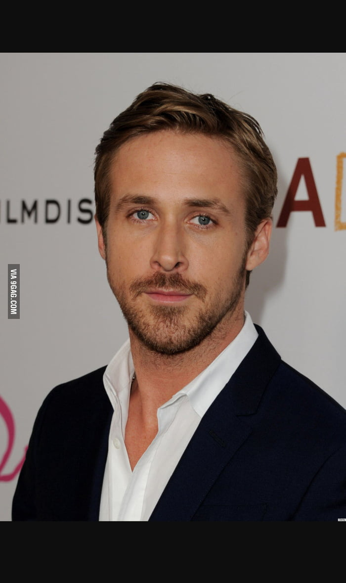 At my job, someone pointed out Ryan Gosling's slightly ...