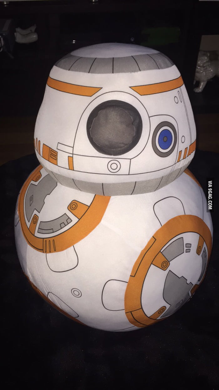 life sized bb8 plush about 2 ft 0 6 meters tall 9gag