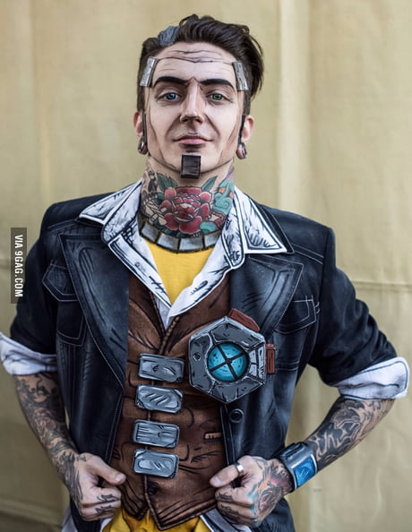 Handsome Jack Cosplay From Borderlands 2 9gag