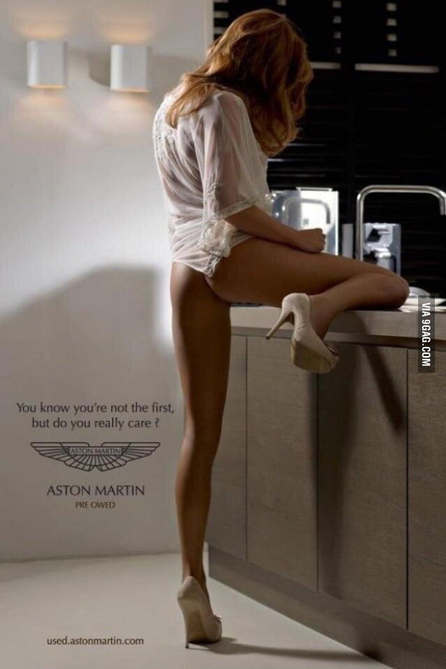 best used car advertisement ever by aston martin 9gag. Black Bedroom Furniture Sets. Home Design Ideas