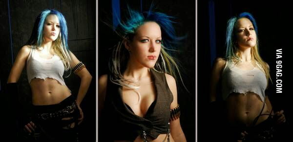 This Is Alissa White Gluz Lead Singer Of Arch Enemy 9gag