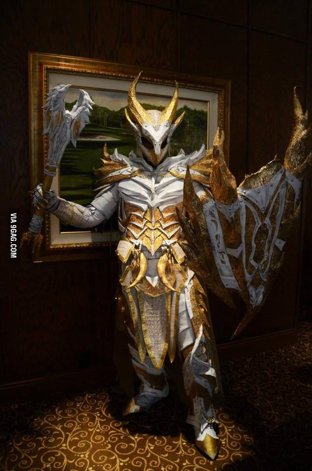 Skyrim Holy Daedric Armor 9gag