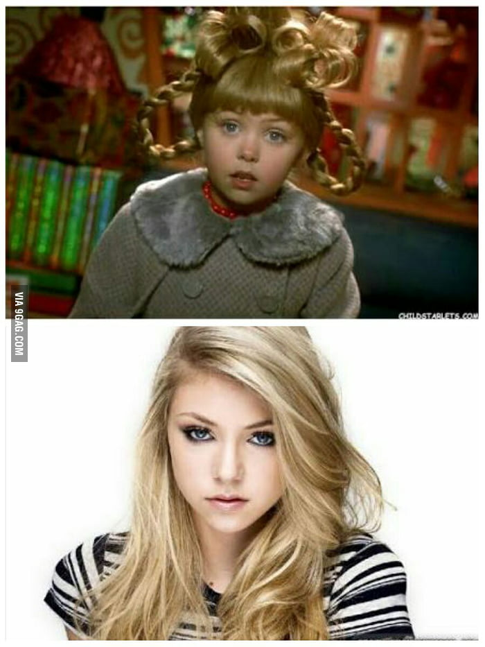 remember the little girl from how the grinch stole christmas taylor momsen puberty does - Taylor Momsen How The Grinch Stole Christmas