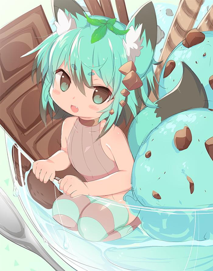 Choco Mint Girl 9gag