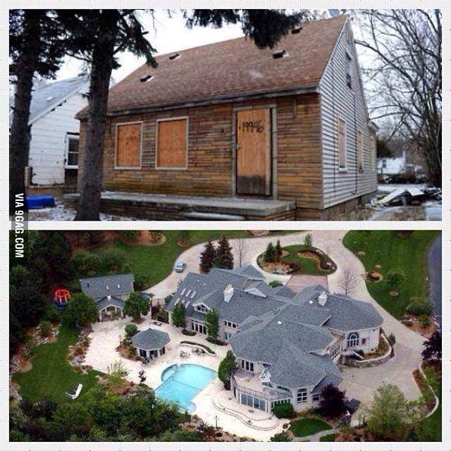 Eminems House Before And After