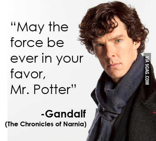 May The Force Be Ever In Your Favor Mr. Potter