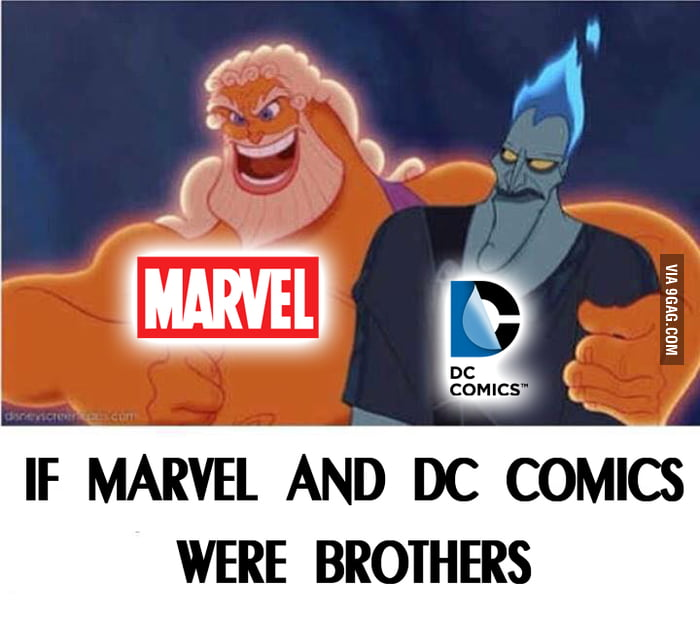 Image result for if marvel and dc were brothers