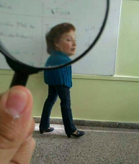 Look at my new magnifier