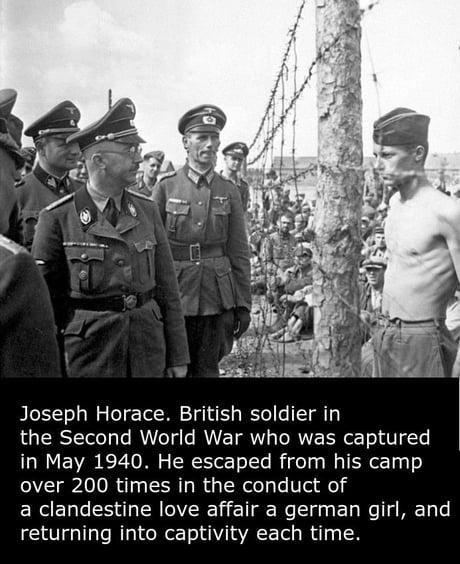 Heinrich Himmler met a real badass guy